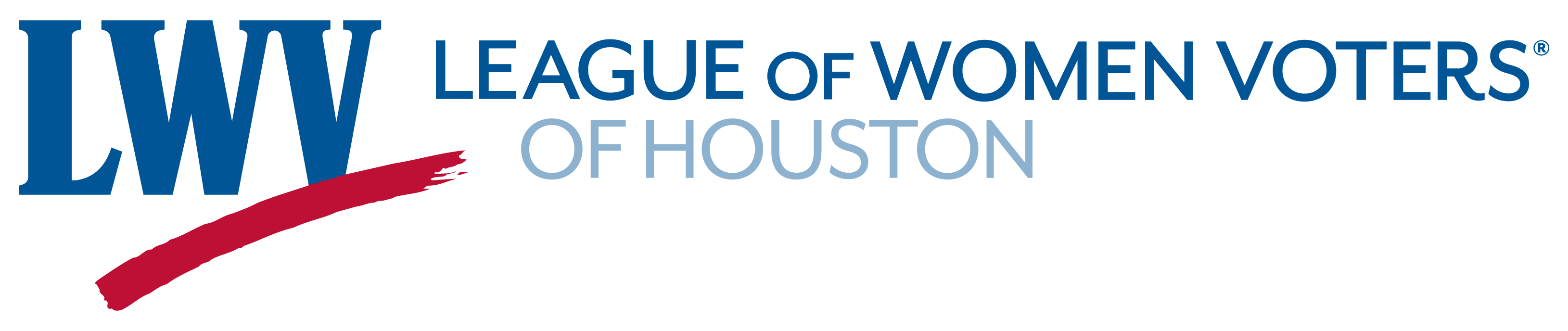 League of Women Voters of Houston logo